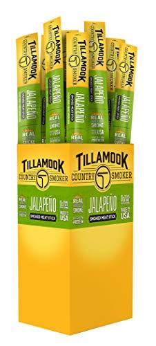- Tillamook Country Smoker All Natural, Real Hardwood Smoked Jalapeño Snack Stick, 1.44-oz (Pack of 24)