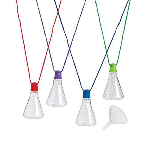Beaker Sand Art Bottle Necklaces