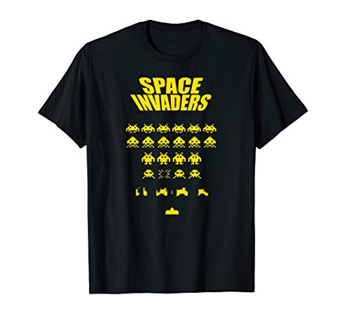 Space Alien Invaders Shirt | 80s Invaders Game -