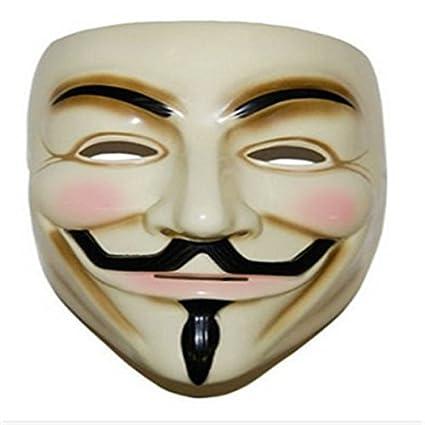V para la máscara de Vendetta