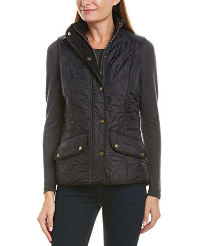 Barbour Womens Cavalry Quilted Gilet Vest, 16