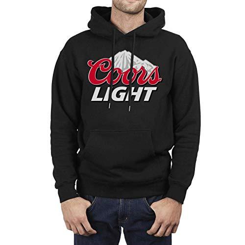 CLH Long Sleeve Fleece coors-Light-Logo- Mens Hoodie Sweatshirt
