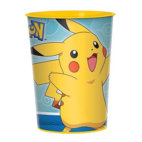 Pokemon Favor Cup, 16 oz, Blue