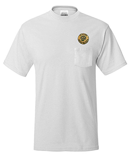 Southern Railway Embroidered Pocket Tee White Adult 2XL [p27]