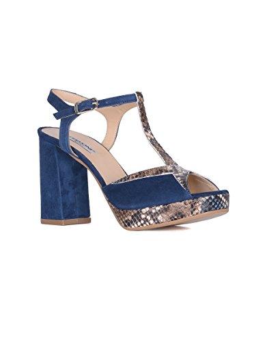 Cervone - Sandalias de vestir para mujer azul turquesa turquesa