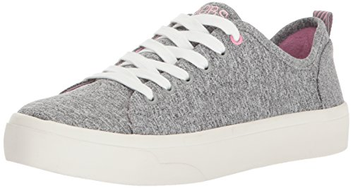 BOBS from Skechers Womens BOBS Cloudy-Heather Jersey Fashion Sneaker Gray 6GM3HAZC