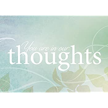 Amazon sympathy greeting cards s9003 business greeting card sympathy greeting cards s1603 business greeting card featuring you are in our thoughts on m4hsunfo Images