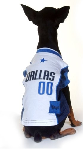 DALLAS MAVERICKS Dog Jersey ★ ALL SIZES ★ Licensed NBA (Small)