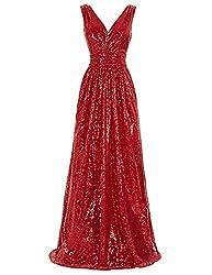 Women's Sequin Sleeveless Maxi