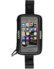 LEXIN LX-MTB06 Motorcycle Tank Bag, Motorcycle Magnetic Phone Holder, Big Size Touch Screen Phone Case for iPhone Android up to 6.5 Inch