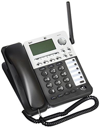 AT&T SynJ SB67148 DECT 6.0 Cordless Deskset for the AT&T SynJ SB67138 & SB67158 Small Business Phone System by AT&T