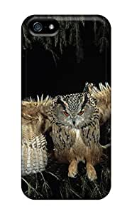 LastMemory Case Cover Protector Specially Made For Iphone 5/5s Flying Owl