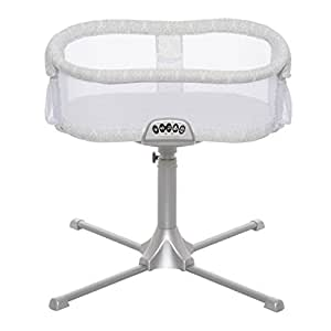 Halo Innovations Halo Bassinest Swivel Sleeper - Premiere Series, Silver/White, Damask, One Size