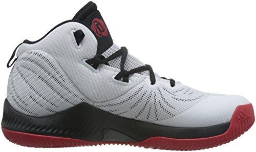 adidas Herren D Rose Dominate III Basketballschuhe Schwarz (Negbas / Negbas / Ftwbla)