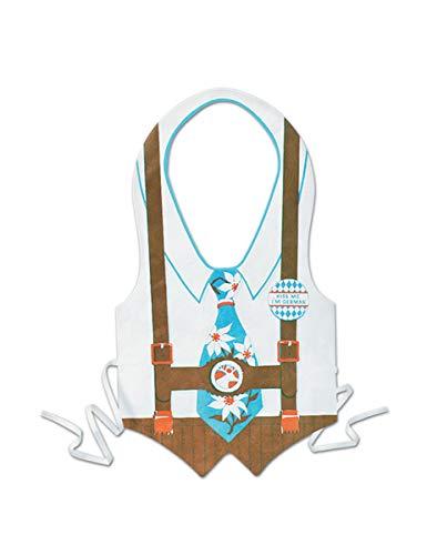 (Plastic Oktoberfest Vest Party Accessory (1 count))