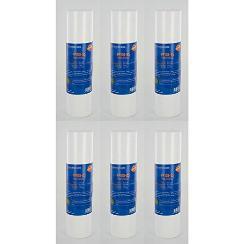 FiltersFast Compatible Replacement for WaterPik IR-25 Water Filter Cartridge - 6 Pack