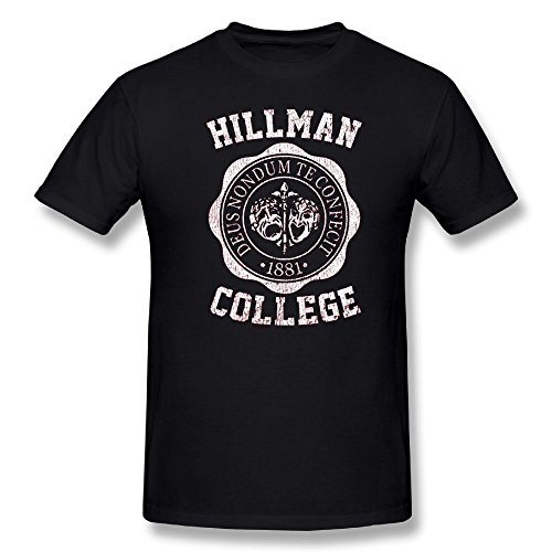 Man Hillman College Men's Round Neck T-Shirt - Family Sixers Pack