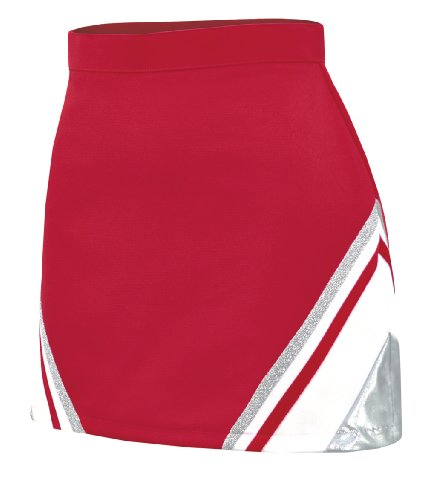 Metallic Cheerleading Uniform Skirt