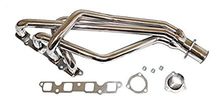 For TOYOTA COROLLA 1.8L 3T-C E70 Stainless Exhaust Chrome Header with Gasket and