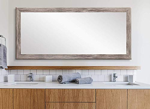 BrandtWorks Barn Wood Full Length Floor Vanity Wall Mirror, 33 x 72, -