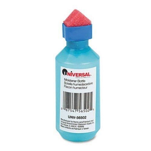 Universal Squeeze Bottle Moistener, 2 oz, Blue by Universal