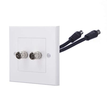 Computer Spares Tv Aerial Faceplatewall Outlet Suitable For