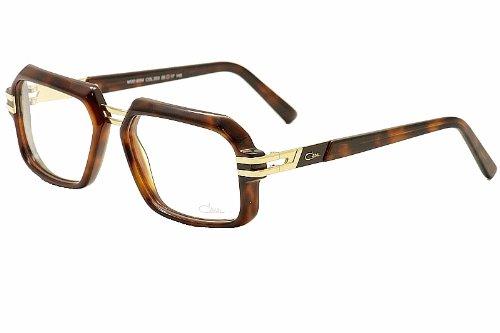 Cazal Eyeglasses 6004 003 Havana/Gold Rectangular Full Rim Optical ...