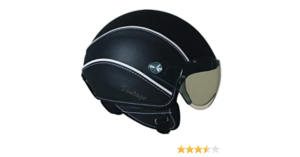Amazon.com: Nexx X60 Vintage Open Face Helmet (Black, Medium): Automotive