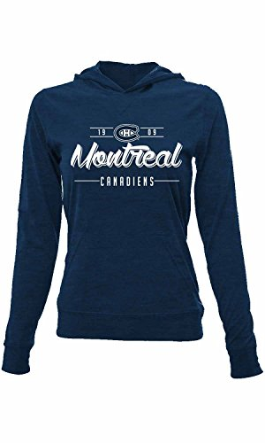 (Levelwear NHL Montreal Canadiens Women's Recovery Pin Dot Hoodie, Small,)