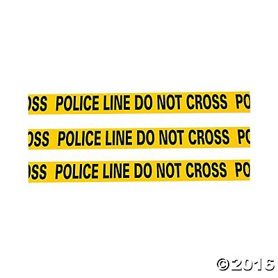 Caution Tape - Police Line Do Not Cross - 20 ft by Novelty Toys