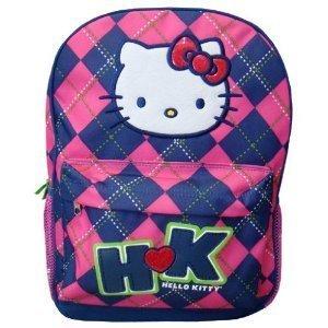 FAB Starpoint Backpack - Hello Kitty Argyle