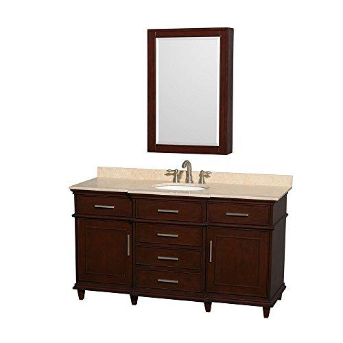 Berkeley Bathroom Vanity - Wyndham Collection Berkeley 60