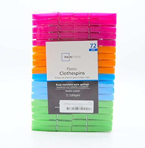 Mainstay 72 Multicolored Plastic