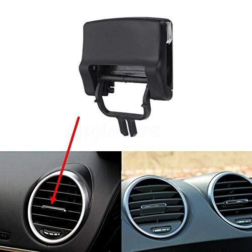 Dash A C Air Vent Outlet Tab Clip kit Black For Mercedes Benz W164 X164 ML ()