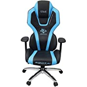 E-Blue Auroza Gaming Chair High Grade PU Leather PC Racing Bucket Seat Office Ergonomic Computer eSports Desk...