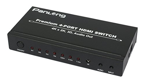 Panlong 4 Port Switch Optical Toslink