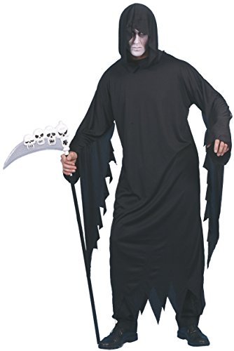 Screamers Halloween Costumes (Smiffy's Men's Screamer Costume, Gown and Hood, Legends of Evil, Halloween, Size L, 20504)