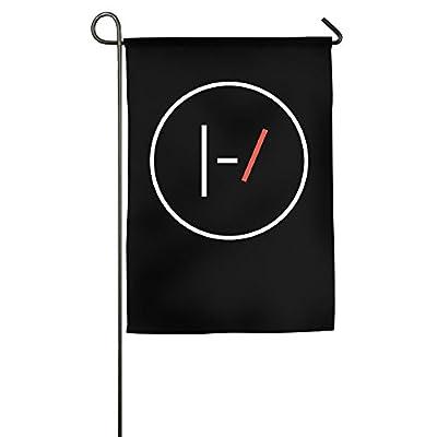 Twenty One Pilots White Garden Mini Flag 2016 Party