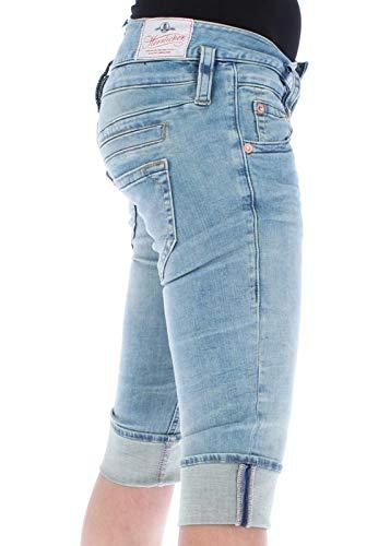 Herrlicher Pitch Cortos Para Mujer Azul Pantalones Short rr1qwf80