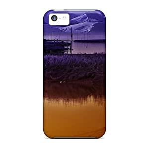 Ideal E-Lineage Case Cover For Iphone 5c(moonlight Night), Protective Stylish Case
