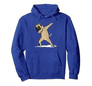 Dabbing Bullmastiff Hoodie Dog Gift Hooded Sweatshirt