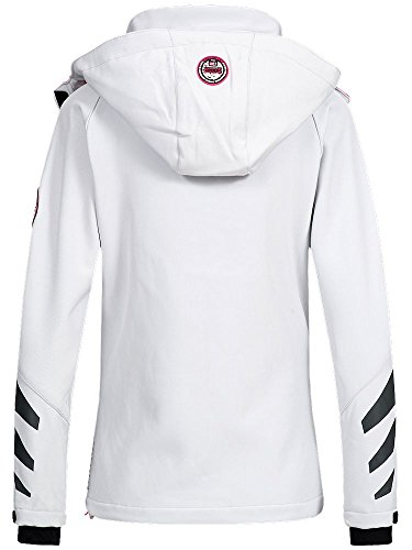 Bianco Geographical Donna Norway Geographical Norway Giacca 0UzTq