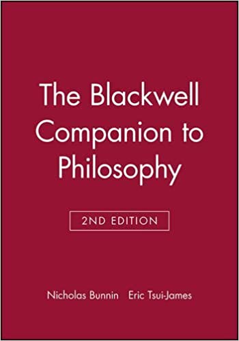 The Blackwell Companion to Philosophy (2002-11-22)