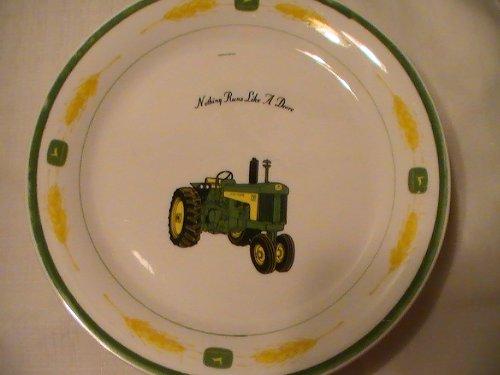 "John Deere Gibson Amber Fields 9 3/4"" Dinner Plate - 1 Plate"