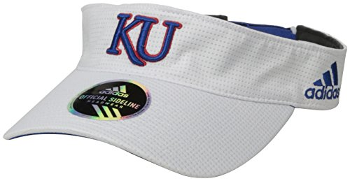 Kansas Jayhawks Coaches - NCAA Kansas Jayhawks Adult Men Spring Game Visor, One Size, White