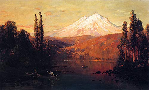 Mount Canvas Collection (Thomas Hill Mount Shasta 1882 Private Collection 30