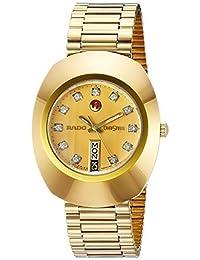 Rado Men's R12413493 Original Gold Dial Watch by Rado