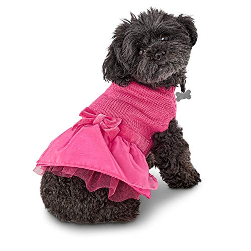 Bond & Co. Paws in Pink Dog Dress, X-Small