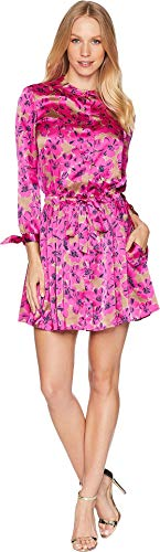 Juicy Couture Women's Alexandria Floral Shirtdress Glamour Pink Alexandria 4 -