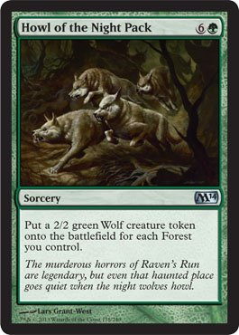 - Magic: the Gathering - Howl of the Night Pack (178/249) - Magic 2014